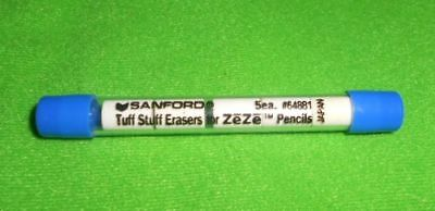 Papermate  Tuff Stuff Eraser Refill 5 Erasers In 1 Tube  64891 New