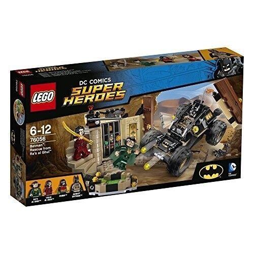NEW Lego DC SUPER HEROES (76056) Batman: Rescue from Ra's al Ghul - 257 pcs