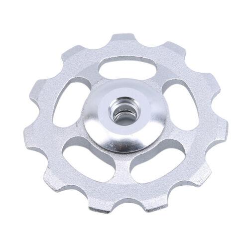Useful 11 Tooth Ultralight Aluminum Alloy Bike Bearing Wheel Derailleur Part LH