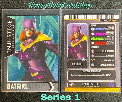 Deathstroke Power Rare Injustice Arcade Series 1 OOP Card 63 Ark Org