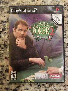 World-Championship-Poker-2-with-Howard-Lederer-PlayStation-2-FREE-SHIPPING