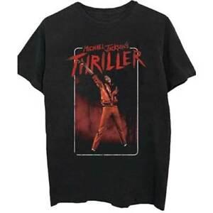 Michael-Jackson-Thriller-Red-Suit-Official-Merchandise-T-Shirt-M-L-XL-NEU