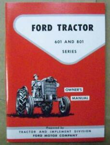 Image Is Loading Ford Tractor 1957 1958 1959 1960 1961 1962