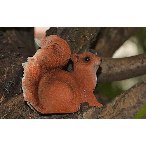 2x Outdoor Resin Animal Squirrel Sculpture Garden Ornaments Wedding Decor