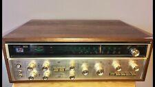 1973 SANSUI QS VARIO 4-CHANNEL STEREO RECEIVER Vintage Look REPLICA METAL SIGN