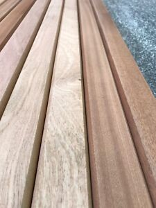 Terrific Details About 10 Sapele Hardwood Garden Bench Slats 53Mm X 21Mm X 1220Mm Hardwood Seat Chair Ncnpc Chair Design For Home Ncnpcorg
