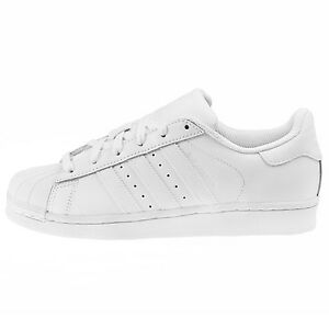 75dfd6c5736044 Image is loading Adidas-Superstar-Foundation-Juniors-B23641-White-Shell-Kids -