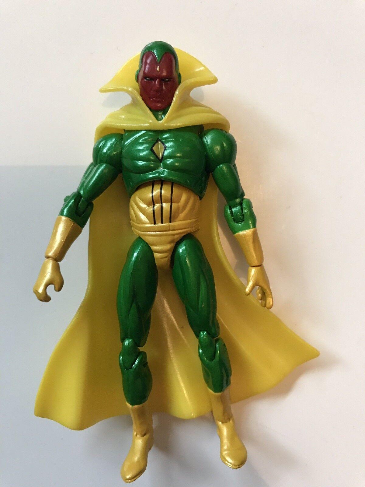 Marvel Universe Infinite Legends Figure 3.75  Vision .J8 READ DESCRIPTION