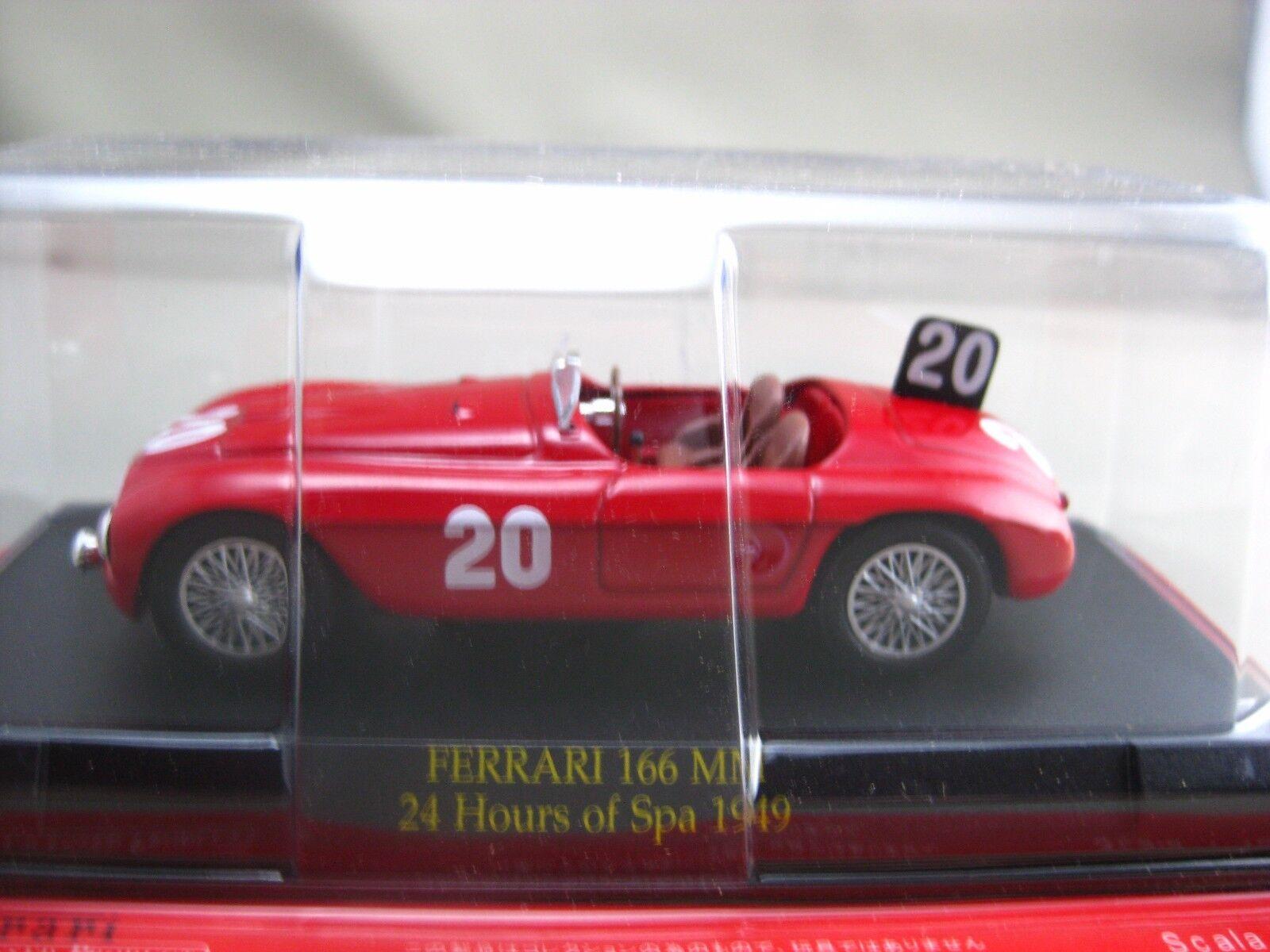 Ferrari 166 MM 24 H de SPA 1949 Hachette 1 43 Diecast voiture Vol.84