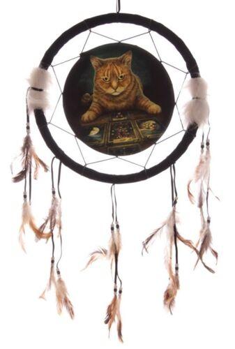 Traumfänger Magische Wahrsager Katze Dreamcatcher Lisa Parker Design div Größen