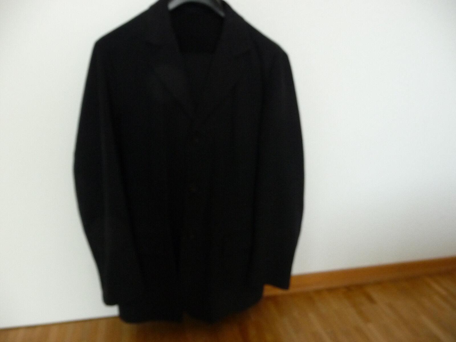 1 Omen Anzug Herrenanzug Baumwolle dunkel graublau Gr. XL