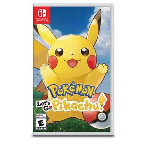 Pokemon: Lets Go, Pikachu For Nintendo Switch