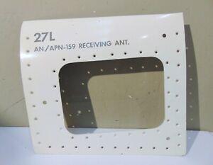 Mcdonnell Douglas F-4 Phantom II Skin Panel, Unused, AN/APN-159 Antenna 27L