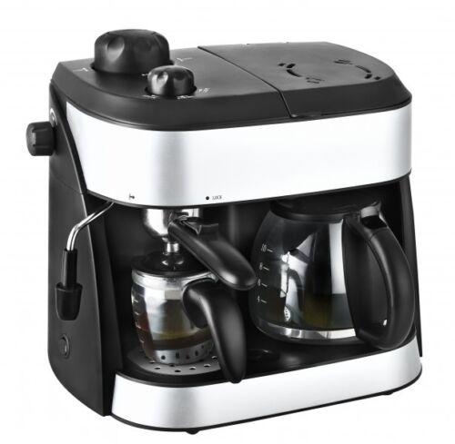 *89216 3in1 Kombi Espresso Kaffeeautomat Milchaufschäumer 2 Kannen Karton defekt