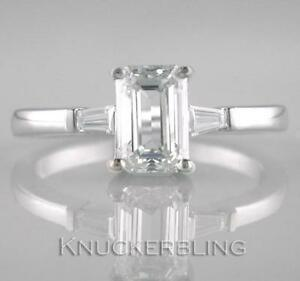 Diamond-Solitaire-Ring-1-70ct-Certificated-G-VS1-Exc-Emerald-Cut-18ct-White-Gold