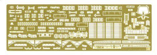 Hasegawa 1 350 Ijn Barco de Guerra Nagato Detail Up Parts Súper Kit Nuevo Japón