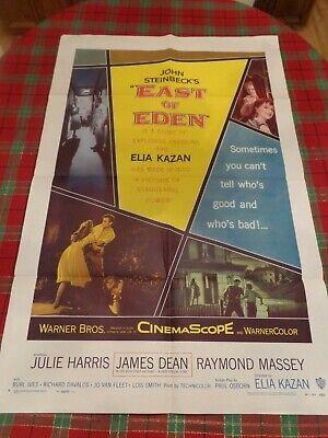 East of Eden 1955 James Dean  movie poster print  #2