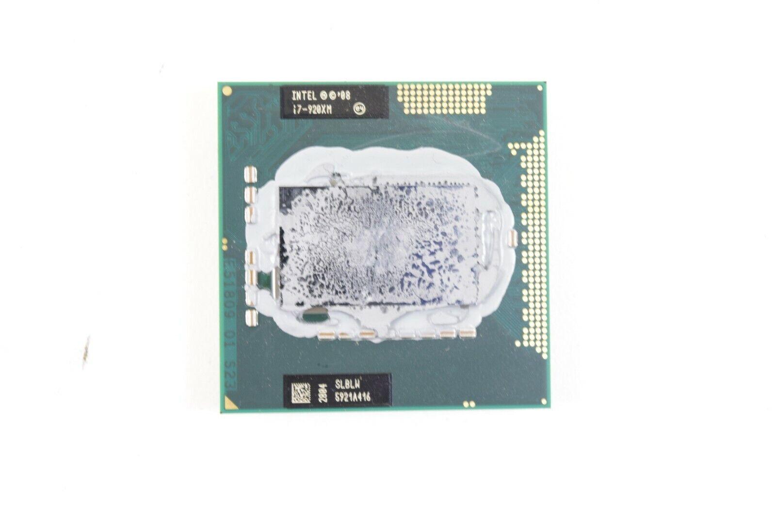 INTEL EXTREME CORE I7 2920XM 2.5GHZ 8MB CACHE SOCKET G2 LAPTOP CPU SR02E *Tested