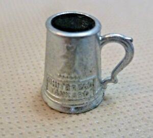 100% Vrai Vintage Maison De Poupées Accessoire-britains 1.5 Cm Métal Whitbread Miniature Tankard-afficher Le Titre D'origine Volume Large