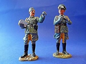 King & Country Retired - Fob020 Officiers Allemands Ww2