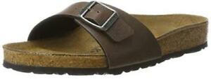 Original-BIRKENSTOCK-Women-039-s-MADRID-Mules-Slip-Ons-Pull-Up-Brown-UK-4-5-5-5-5