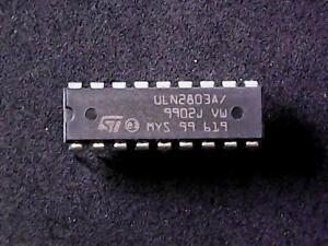ULN2803A-ST-Microelectronics-High-Voltage-Current-Darlington-Array-DIP-18