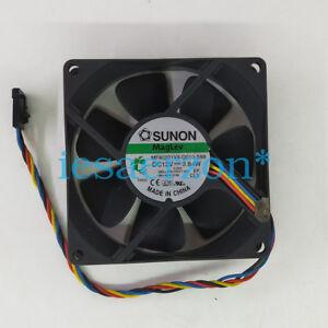 For-SUNON-MF80201VX-Q010-S99-8020-12V-3-84W-4pin-Cooling-Fan