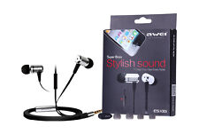 AWEI Super Bass Earbuds Earphone  for iphone MP3, MP4 smart phone FREE POST