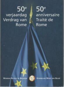 2 Euro commémorative de Belgique 2007 Brillant Universel (BU) - Traité de Rome