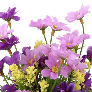 Simulation-Artificial-Gaensebluemchen-Blume-Plant-Wedding-Party-Home-Office-Dekor