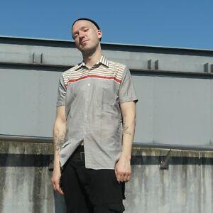 Chemise Chemise Nylon True Vintage Mens Shirt-afficher Le Titre D'origine