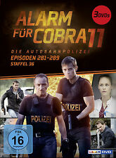 3 DVDs *  ALARM FÜR COBRA 11 - STAFFEL 36  # NEU OVP §