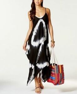 Details about NWT Raviya Swimsuit Cover Up Tie Dye Handkerchief-Hem Dress  Plus Size 0X BLK