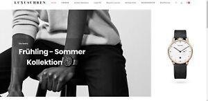 Webprojekt über Luxusuhren | Affiliate Webseite | Viele Produkte