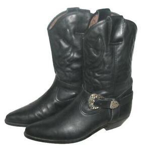 """"""" EL PANCHO """" D'Homme Bottes / Style Western Bottes de Cowboy en Noir Gr. 42"""