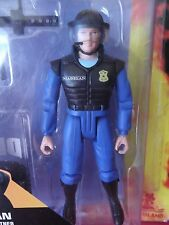 "RoboCop the Series Madigan 4""in Figure Open Package Taped Back Together 1994"
