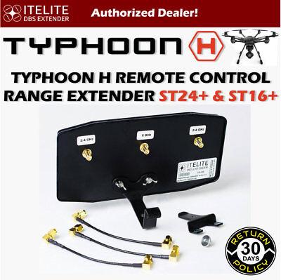 ITELITE DBS MaxxRange Extender Antenna ITE-DBS07.8B Typhoon H 520 Black