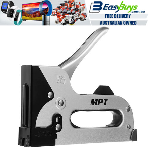MPT Staple Gun Heavy Duty All Metal T50 Hand Stapler with Staples Kit Stanley St