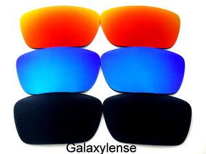 Galaxy-Lentes-De-Repuesto-Para-Oakley-combustible-Movil-Negro-azul-y-Rojo