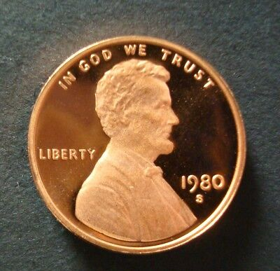 """1981-S GEM PROOF LINCOLN CENT DEEP CAMEO /""""SAVE MULTIPLE PURCHASE DISCOUNTS/"""""""