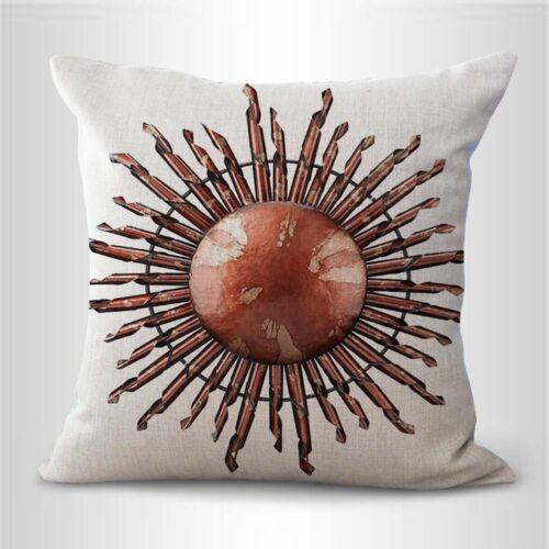 Spanish Mexican sun rays cushion cover seat cushion covers