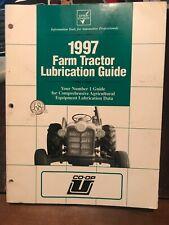 1997 Co Op Farm Tractor Lubrication Guide
