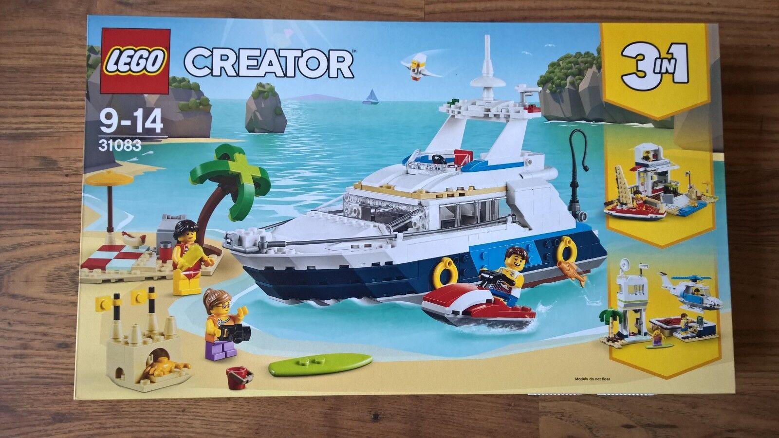 LEGO 31083 - 3 IN 1 CREATOR - CRUISING ADVENTURES - BRAND NEW   SEALED