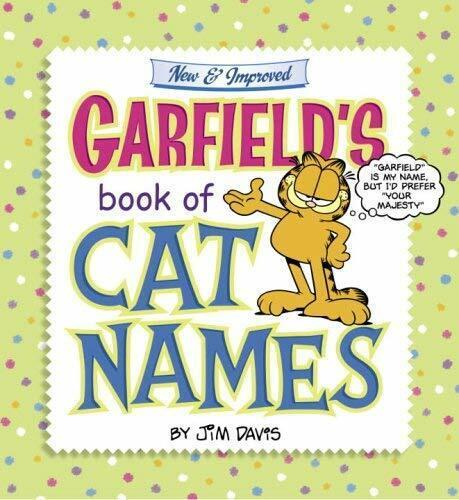 Garfield's Book Of Katze Namen von Davis, Jim