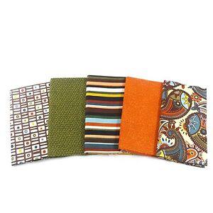 5 fat quarter bundle Autumn Rain SALE CLEARANCE 100/% Cotton Dashwood Studios