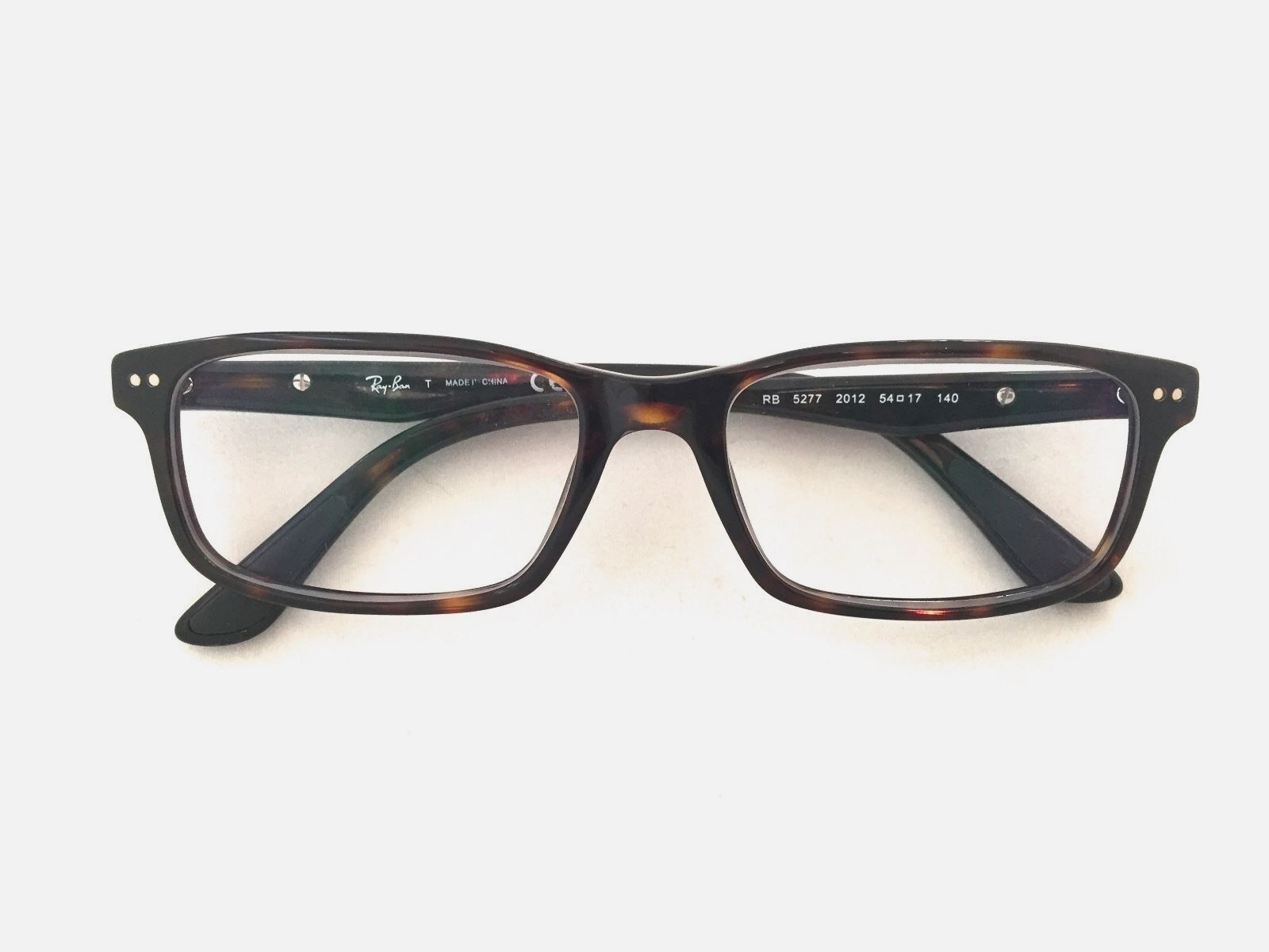 bac8be07ad Authentic Ray Ban Rb5277 2012 Dark Havana 52mm Frames Eyeglasses RX for  sale online