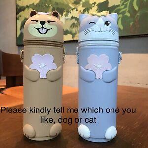 New-China-2019-Starbucks-Sakura-Cute-Dog-Or-Cat-Bottle-Sleeve-1pc