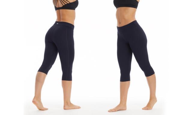 d985101854508 Marika Womens Performance Active Control Leggings Dark Blue Yoga Pants  Small New