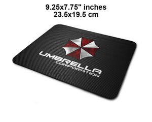 Resident Evil game Umbrella Gaming antislip PC laptop mouse mat pad 2