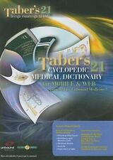 Taber's Cyclopedic Medical Dictionary for PDA, Web & Wireless on CD Unbound Med